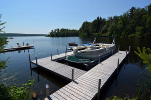 Rental dock at Recreational Rental Properties, Inc.
