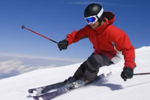 Skiing near The Galatyn Lodge.