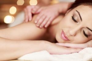 Spa massage at Lutsen Resort on Lake Superior.