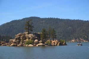 Lake view at Inn Der Bach.