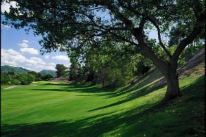 Golf course at Pala Mesa Resort.