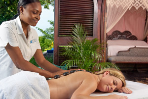 Spa services at Bluefields Bay Villas.