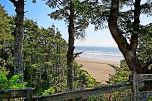 View from Ocean Crest Resort.