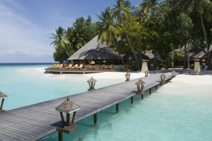 Exterior view of Angsana Resort & Spa Maldives Ihuru.