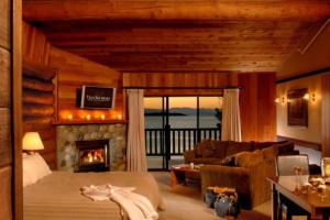 King suite at Tigh-Na-Mara Resort.