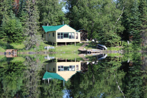Lakeside Cabin at Woman River Camp