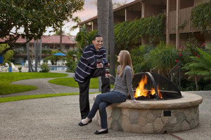 Fire Pit at Pepper Tree Inn