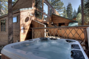 Hot tub at Pullen Realty Group.