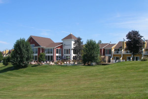 Exterior view of Estrimont Suites & Spa.