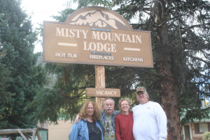 Welcome to Misty Mountain Lodge.