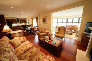 Living room in Unit at Adare Manor Limerick.