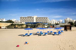 Beach at Hotel Algarve Casino.