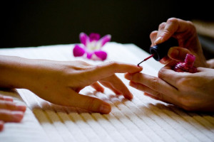 Spa Pedicure at Dolphin Bay Resort