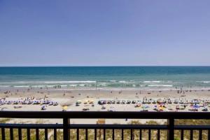 Balcony view at Ocean Reef Resort.