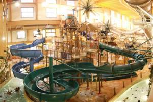 Lost Rios Indoor and Outdoor Waterpark near Birchcliff Resort.