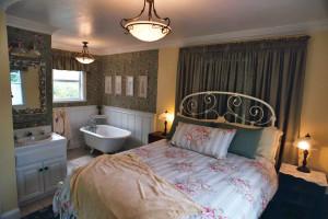Guest room at Pescadero Creek Inn.