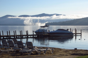 Lake view at Marine Village Resort.