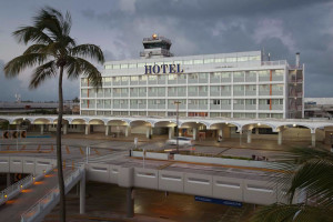 Exterior view of Best Western San Juan Airport Hotel.