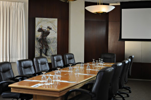 Meeting room at Heritage Hills Golf Resort.