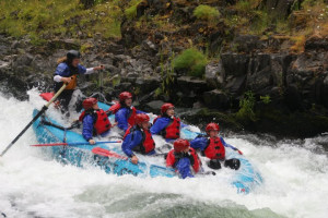 River rafting at Columbia Gorge Hotel.
