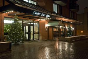 Exterior view of Cartier Place Suite Hotel.