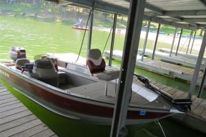 Marina at Shawnee Bay Resort.