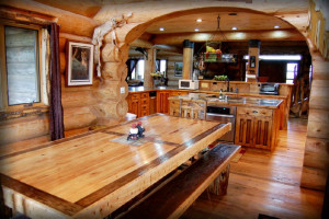 Lodge kitchen at Canyonlands Lodging.