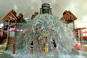 Children's splash pool at Tan-Tar-A Resort.