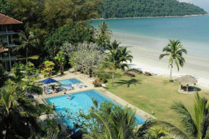 Exterior view of Pangkor Island Beach Resort.