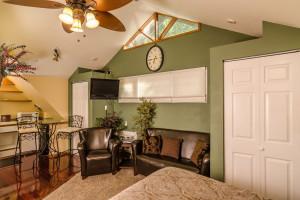 Guest room at Casablanca Inn.