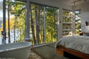 Rental guest room at Mt. Baker Lodging.