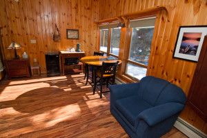 Cabin Interior at Cable Nature Lodge
