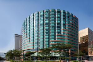 Exterior view of New World Millennium Hong Kong Hotel.