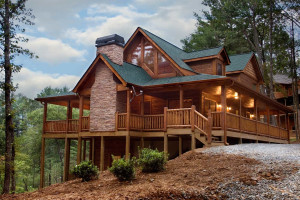 Exterior view of Nevaeh Cabin Rentals.