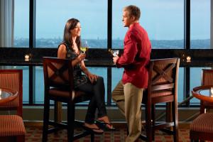 Romantic dining at Manchester Grand Hyatt San Diego.