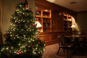 Christmas tree at Stonehedge Inn & Spa.