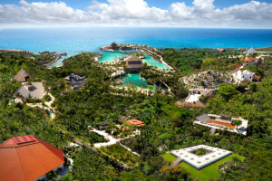Aerial view of Occidental Grand Xcaret - All Inclusive.