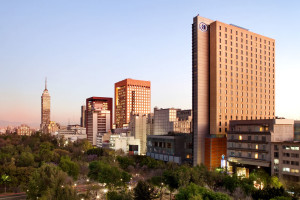 Exterior view of Hilton Mexico City Reforma.