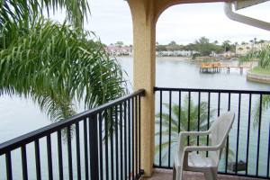 Vacation rental balcony at Travel Resort Services, Inc.