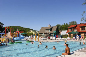 Water park at Crystal Mountain Resort and Spa.