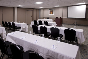 Conference room at Best Western PLUS Oceanfront Virginia Beach.