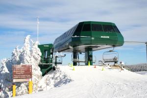 Ski lift at Snowshoe Properties Management.