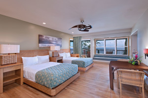 Guest room at Travaasa Hana.