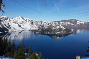 Crater Lake National Park just over an hour drive from DiamondStone.