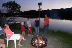 Outdoor activities at Moore Springs Resort.