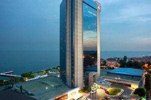 Exterior view of Renaissance Polat Istanbul Hotel.