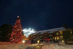 Christmas time at Crystal Mountain Resort and Spa.