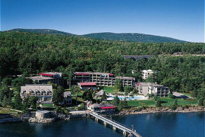 Aerial View of Bar Harbor Regency
