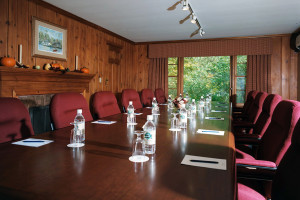 Meeting room at Sherwood Inn.
