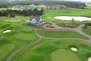 Exterior view of Rodd Crowbush Golf & Beach Resort.